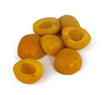Oreillons d'abricot surgelés : Sicoly, fournisseur oreillons d ...