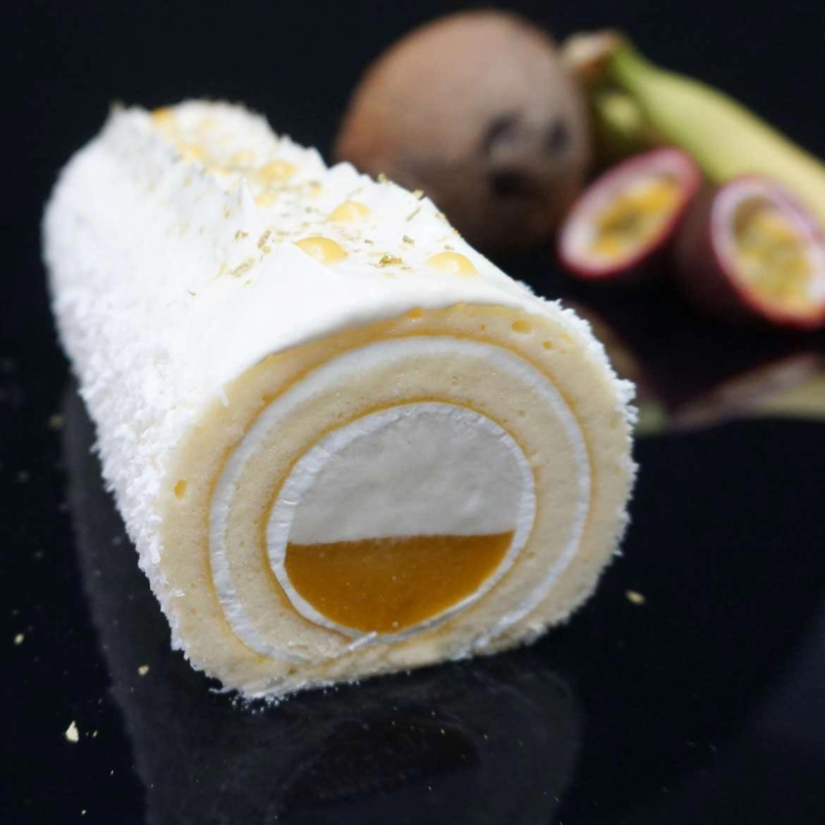 sicoly fiche recette Roll Cake exotique